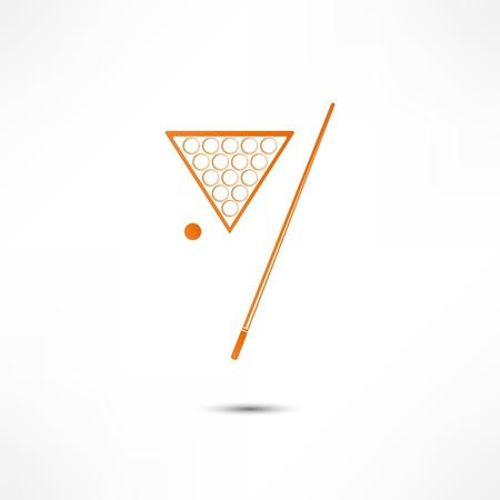 number seven: Billiards Icon