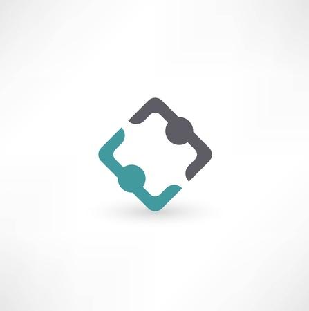 Business icon. Transaction. Stock Photo
