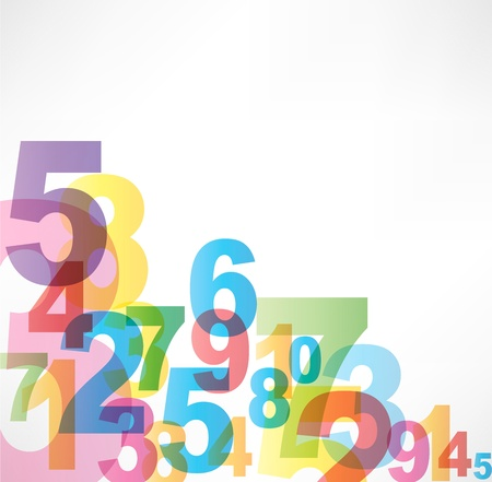 0 6: Numbers Background