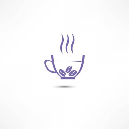 brewing house: A cup of coffee icon