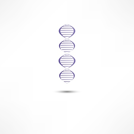DNA Icon Stock Photo - 16839137