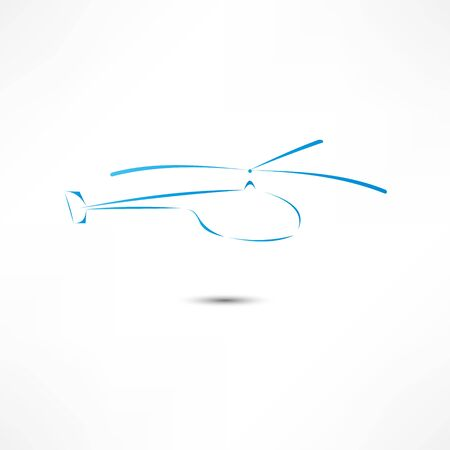 Helicopter Icon photo