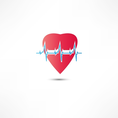 heart monitor: Cardiogram Icon