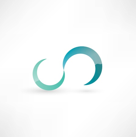 mobius loop: Infinity Symbol Stock Photo