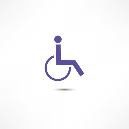 disabled parking sign: Disabled icon Stock Photo