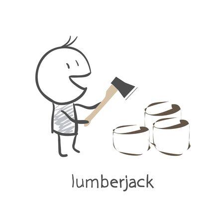 woodcutter: woodcutter