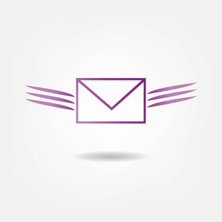 chatbox: flying letter
