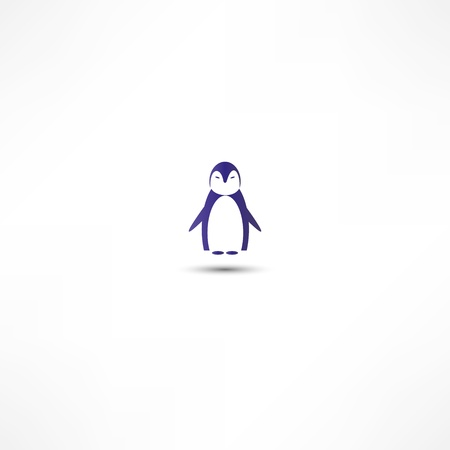 coldness: Penguin icon