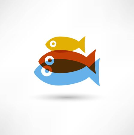 Fish Icon Stock Photo - 16839016