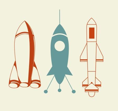 Rocket Icon Stock Photo - 16840379