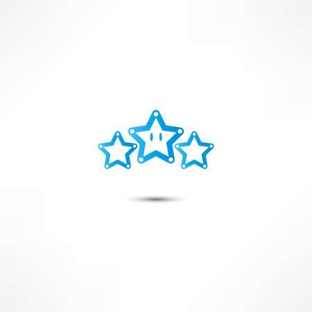star award: star icon Stock Photo