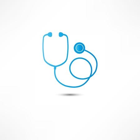 stethoscope icon: Stethoscope icon Stock Photo