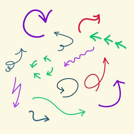 doodle  arrows photo