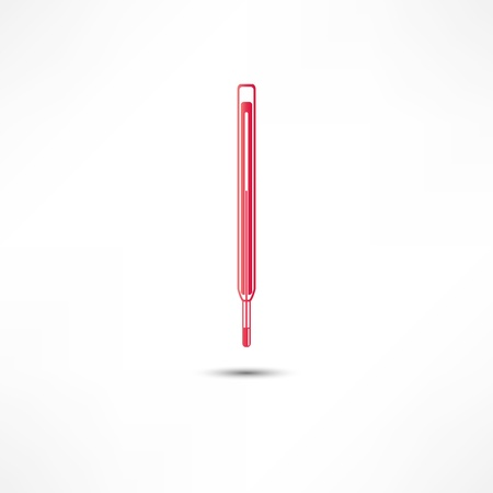 convalescence: Medical Thermometer Icon