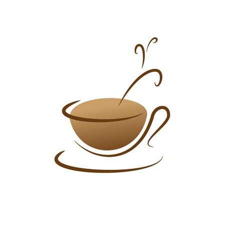 A cup of coffee icon Stock Vector - 17159173