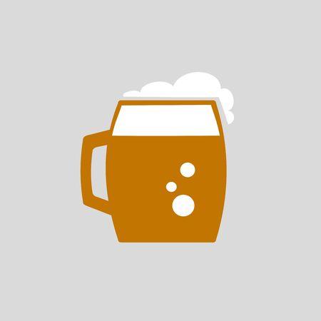 pint glass: Beer Icon Illustration