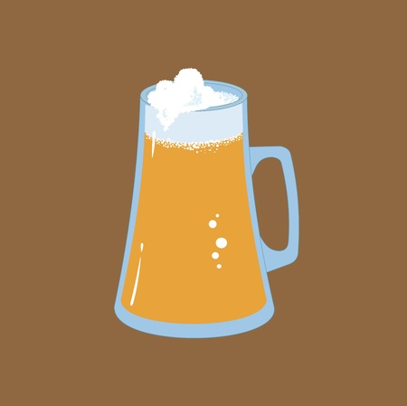 draught: Beer Icon Illustration