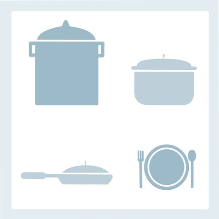 Set of kitchen tools Stock Vector - 17259025