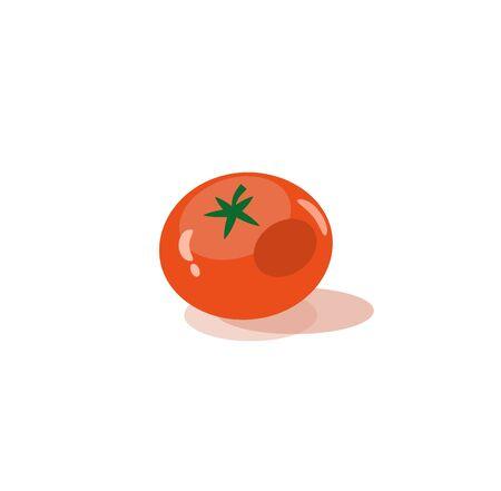 cherry tomato: tomato icons Illustration