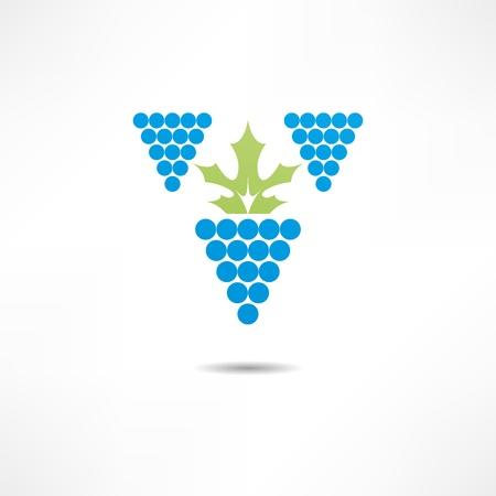 grapevine sign Stock Vector - 17357647