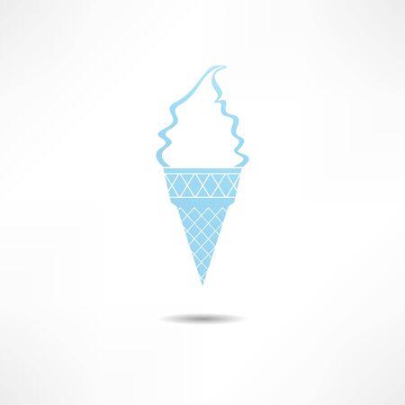 book shop: Ice Cream icon Illustration