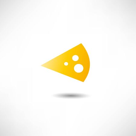 Cheese Icon Stock Vector - 17463372