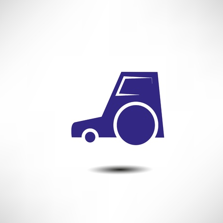 Tractor icon Stock Vector - 17463369