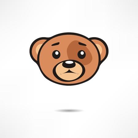 Upset bear. Stock Vector - 17463604