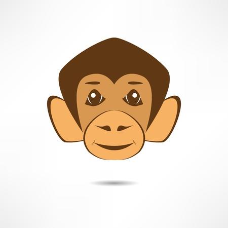 Smiling monkey. Stock Vector - 17463691
