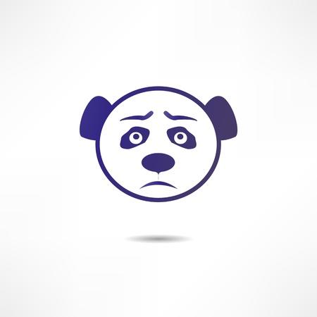 childishness: Sad panda.