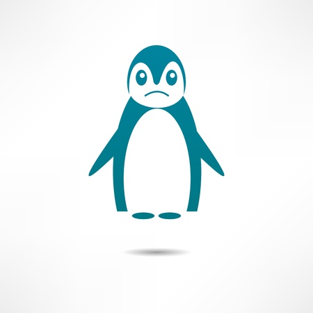 offended: Offended by Penguin. Illustration