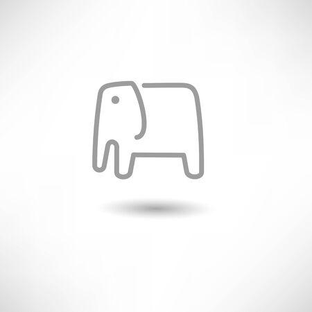 elephant Stock Vector - 17588364