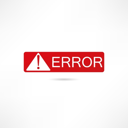 Error icon Stock Vector - 17813953