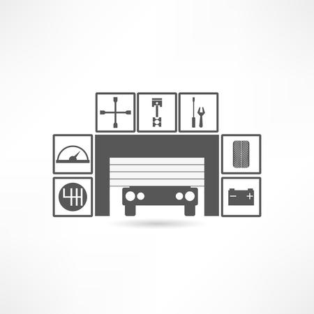 Garagen-Symbol