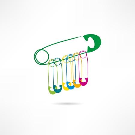 haberdashery: Haberdashery icon Illustration