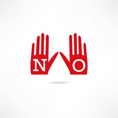 embargo: Veto icon Illustration