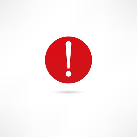 Warning icon Stock Vector - 17813925