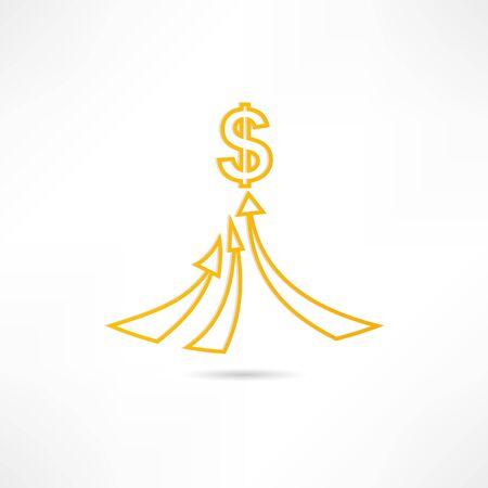Wealth icon Stock Vector - 17813979