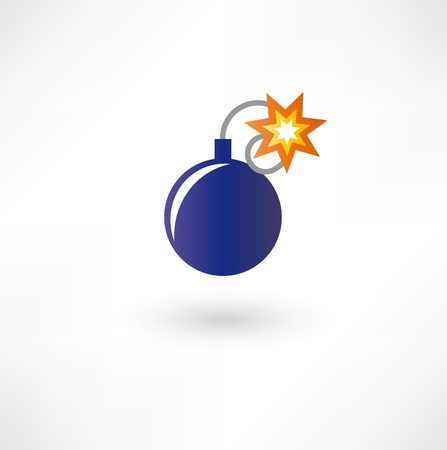Bomb icon Stock Vector - 17954859