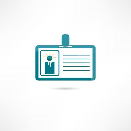 permit: Badge icon