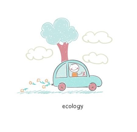 eco car: Coche de Eco