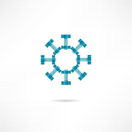 bolts icon Vector