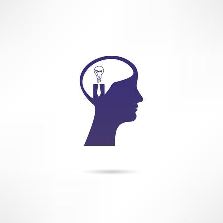 Business idea icon Vector