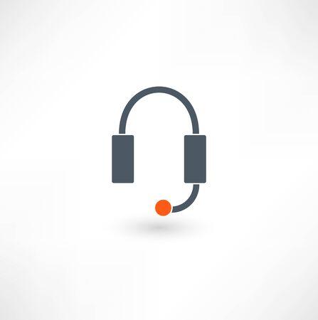 Headphones icon Stock Vector - 18035658