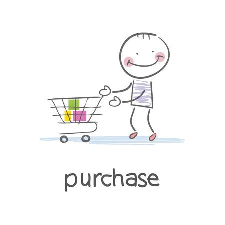 Einkaufen Illustration