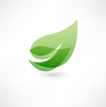 icono ecologico: Eco icono Vectores