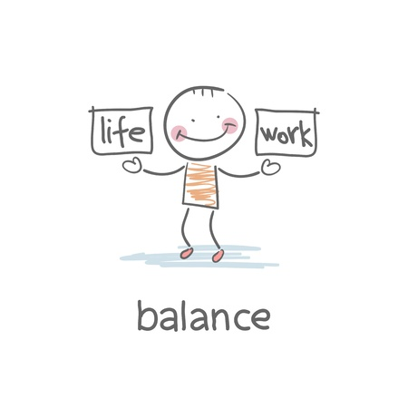 ungleichgewicht: Arbeit und Leben