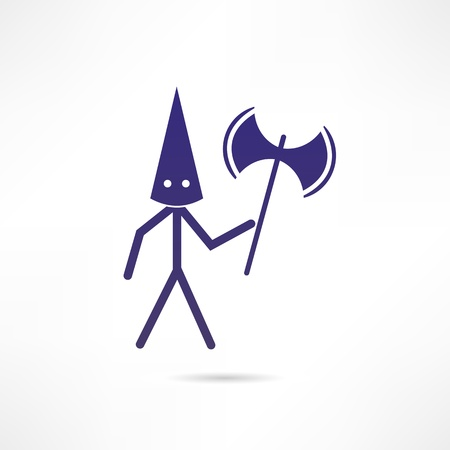 executioner icon Vector
