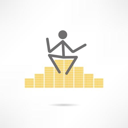 wealth icon Vector
