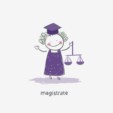 Magistrate Stock Vector - 18244718